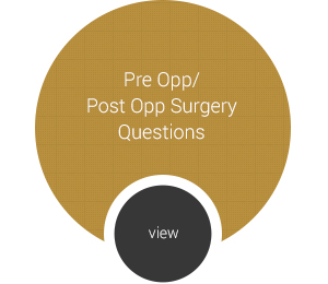 Pre Opp / Post Opp Questions Page